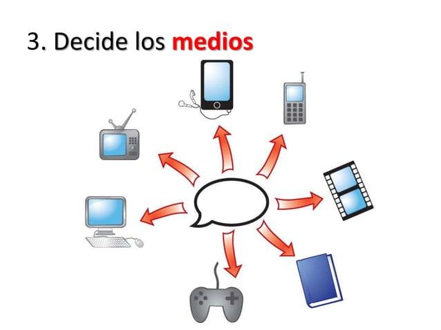 3. Decide los medios