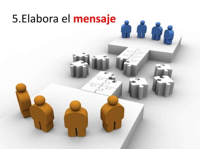 5.Elabora el mensaje