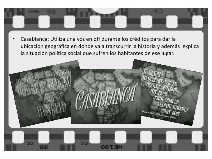869515cd El Cine Clásico: Casablanca y Vértigo