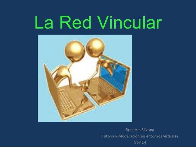 La Red Vincular  Romero, Silvana  Tutoría y Moderación en entornos virtuales  Nov 14