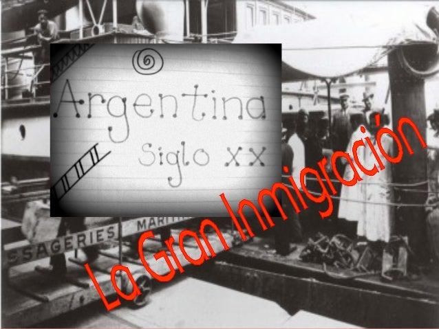 """Se realizará una muestra, abordando el tema """"Argentina, la Gran Inmigración"""" desde las distintas disciplinas del Arte."""