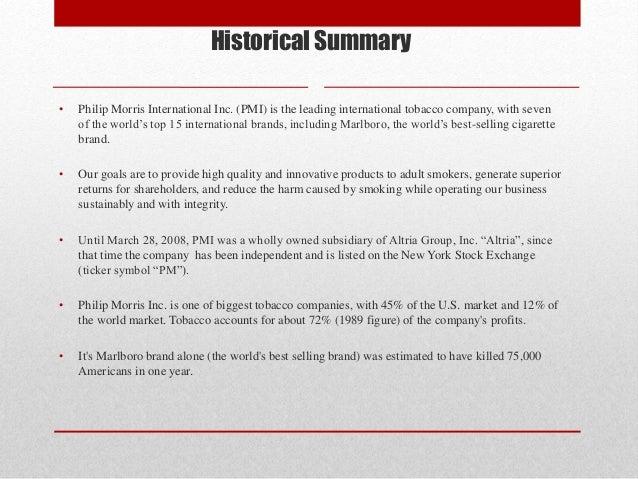 philip morris case study analysis