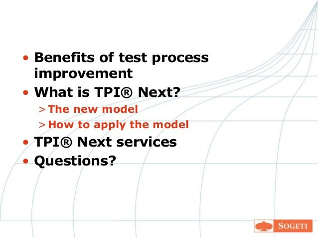 TPI, en metode til forbedring af testproces af Elisabeth
