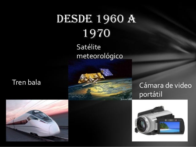 inventos tecnologicos 1960