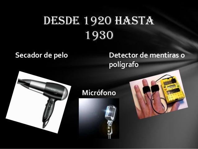 inventos tecnologicos 1930