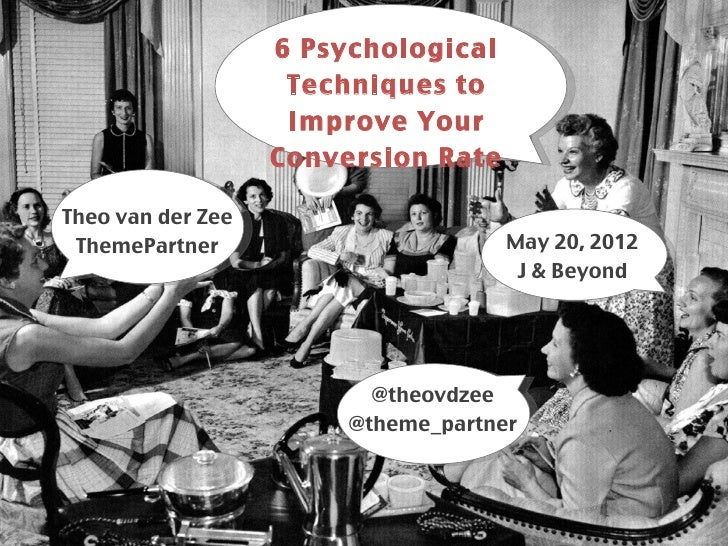 6 Psychological                         Techniques to                              ````````````                         Im...