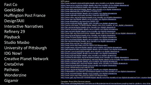 The Pixel Lab 2014_Loc Dao_Lessons Learned In Interactive Documentary