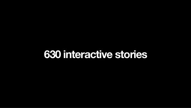 2013 Challenge Interactive Photo Essay for Tablet first, then smartphone and desktop