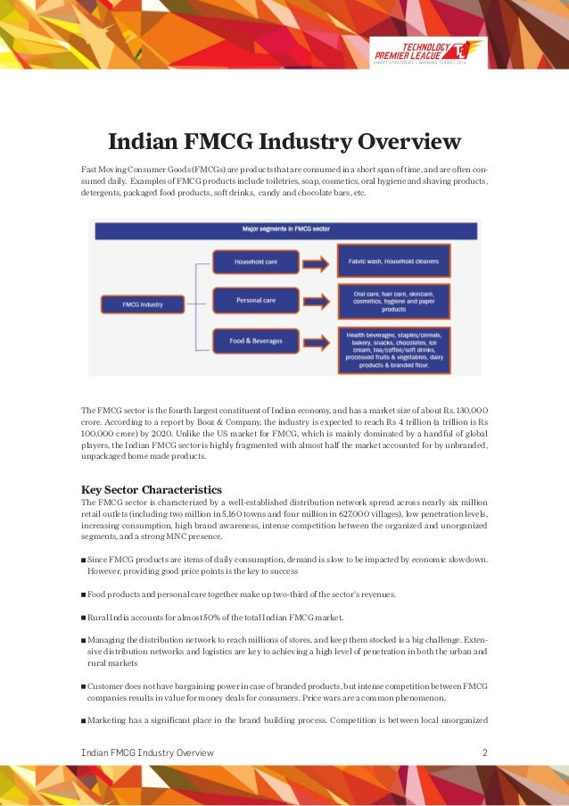 indian fmcg case study Market case studies collection patanjali: an indian fmcg on growth  path  sonia mehrotra , (center of excellence for case development, prin.