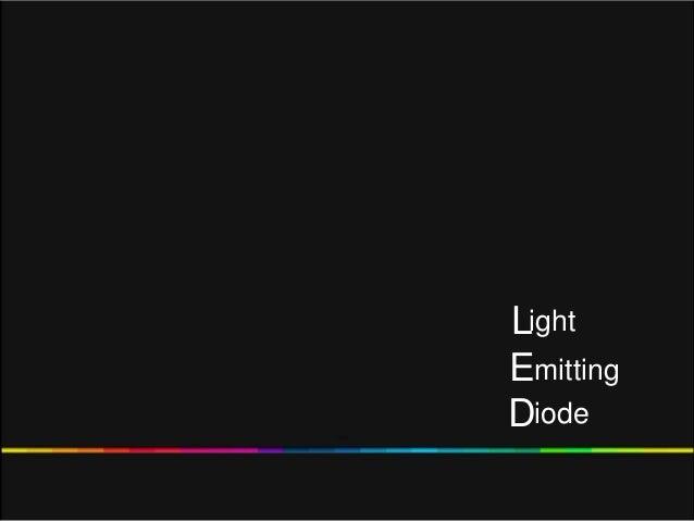 LEDightmittingiode