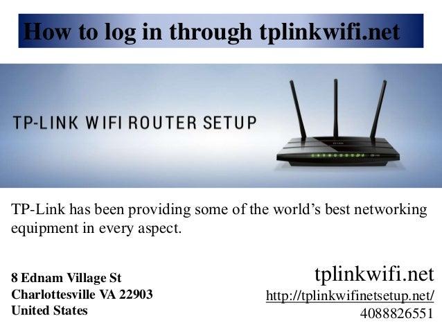 Setup TP-LINK Wifi Router | tplinkwifi net setup