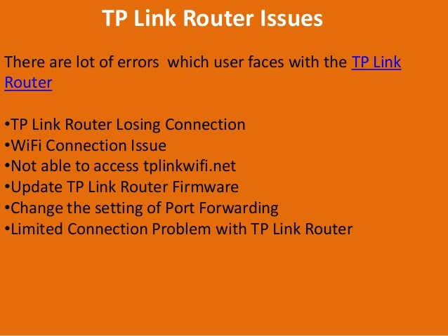 TP Link Router Support 1-800-531-1267