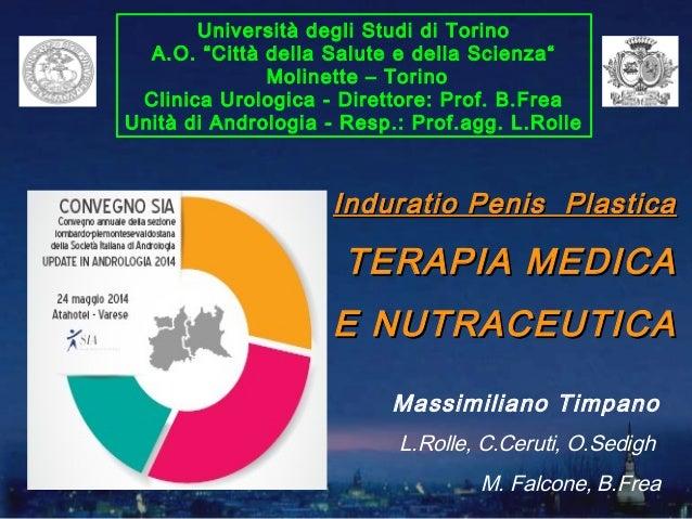 """Università degli Studi di Torino A.O. """"Città della Salute e della Scienza"""" Molinette – Torino Clinica Urologica - Direttor..."""