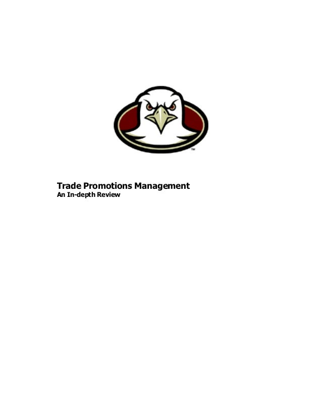 Trade Promotions Management An In-depth Review