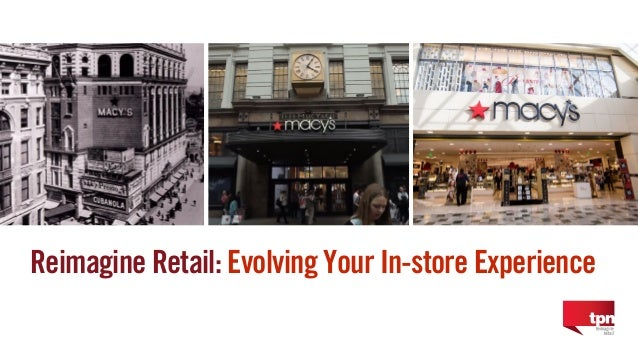 1 Reimagine Retail: Evolving Your In-store Experience