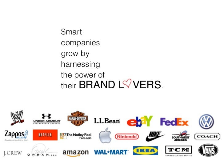 Smart companies grow by harnessing the power of their BRAND    L VERS.