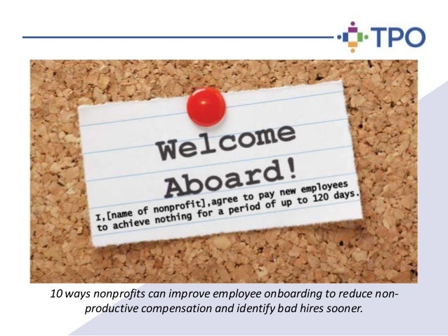 10 New Employee Onboarding Tips for Non Profit Organizations