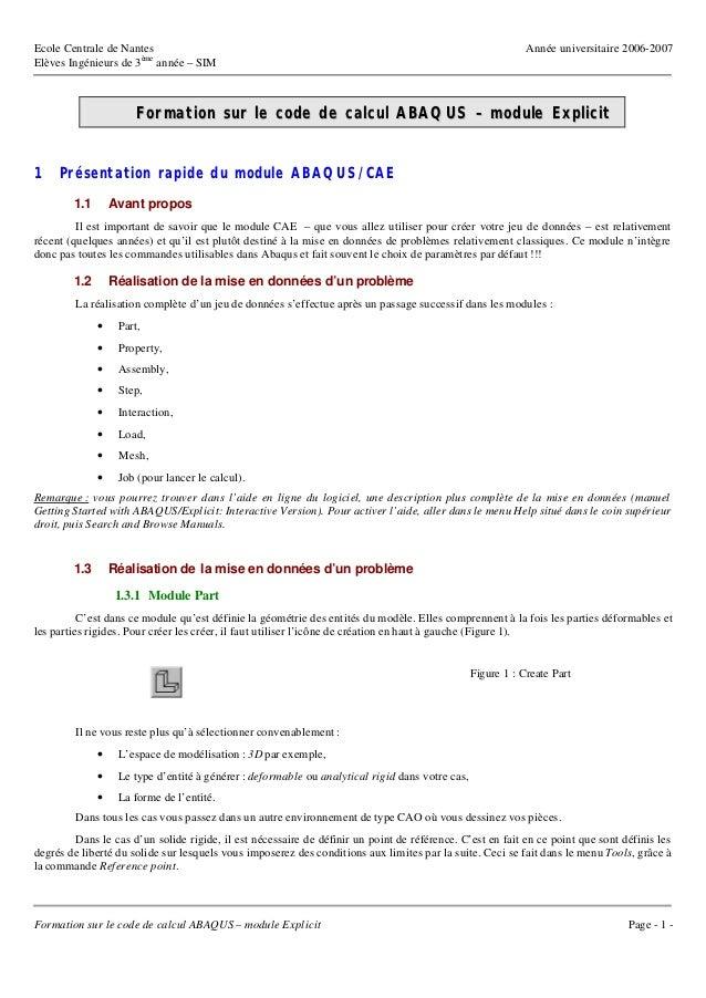 Ecole Centrale de Nantes                                                                                     Année univers...