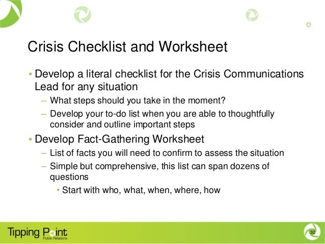 crisis communications plan Establish a crisis management team, and those ensure that a formal system exists to integrate new hires into the crisis communications plan.