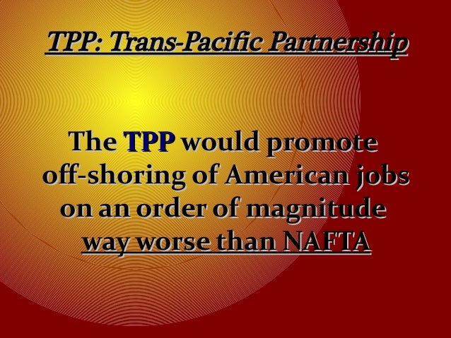 Tpp Trade Agreement Exposed