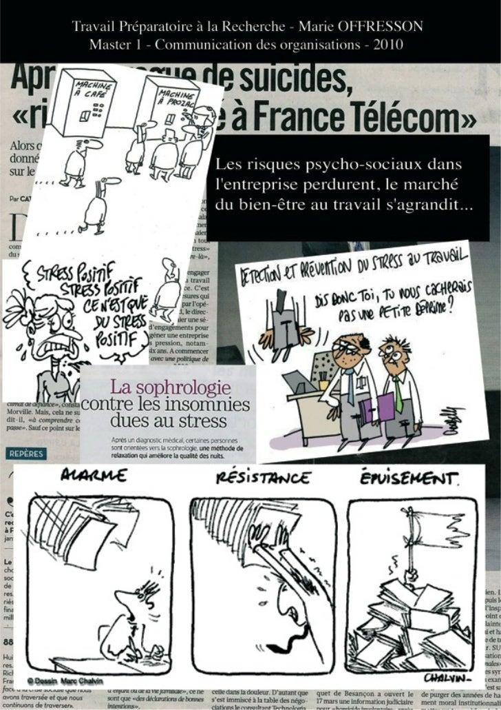 Travail Préparatoire à la Recherche    Marie OFFRESSONSous la direction de Nadège SOUBIALE