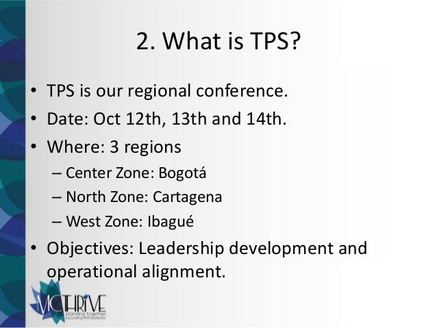 What Is Tps >> Tps Chair Application