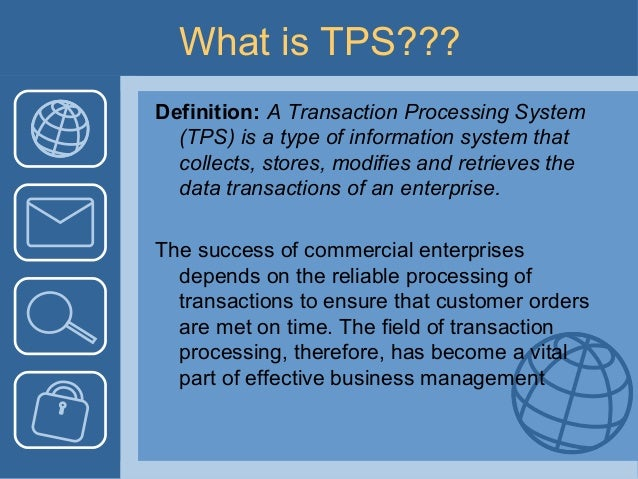 What Is Tps >> Tps Presentation