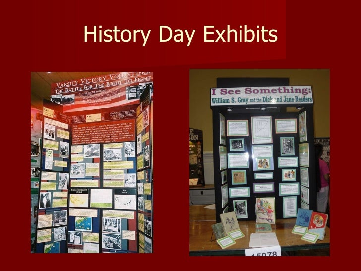 National history day thesis