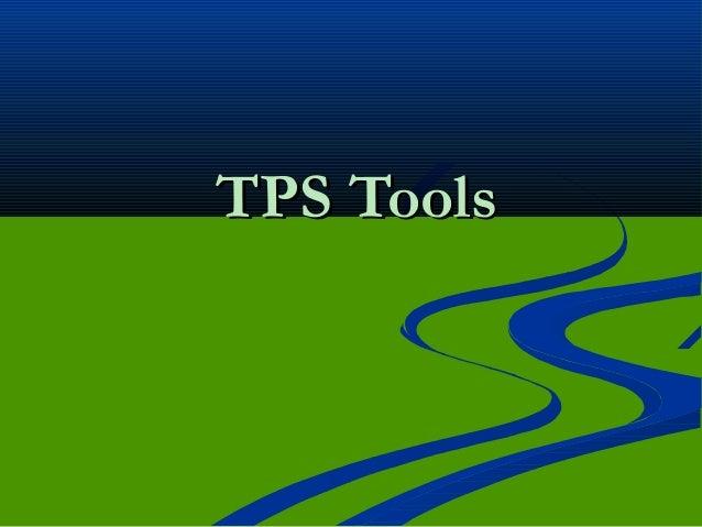 TPS ToolsTPS Tools