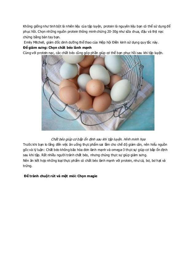 Tập thể dục giảm cân, giảm mỡ toàn thân cần lưu ý gì khi ăn uống (2) Slide 3