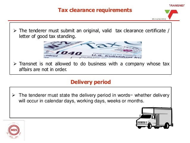 Tpt's tendering process at a glance