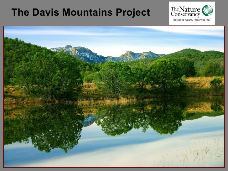 The Davis Mountains Project