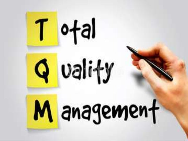 Total Quality Management & 6 Sigma