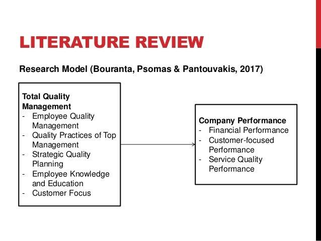 Uas manajemen kualitas dan standar mutu total quality management 62 ccuart Choice Image