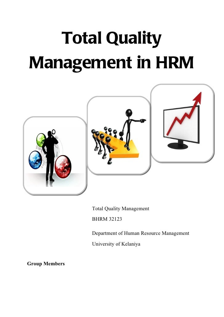 Total Quality Management in HR