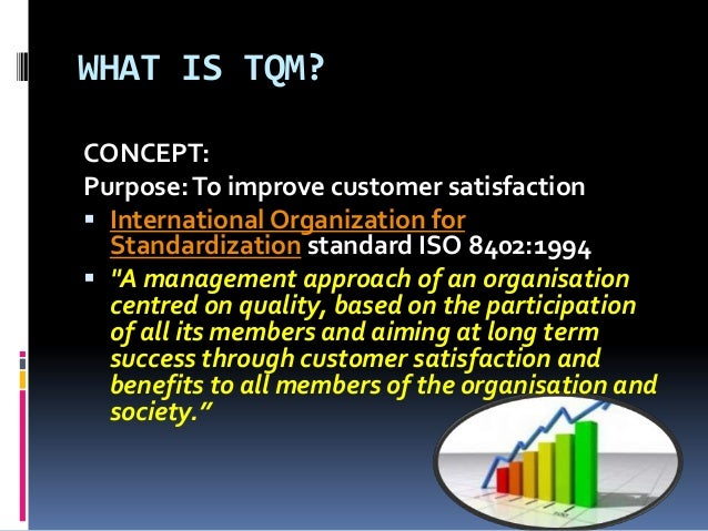 an analysis of the purpose of total quality management Unit aim and purpose this unit  management (tqm) 13 discuss the theories of  tqm 14 analyse the difficulties  analysis of the impact of difficulties on the.