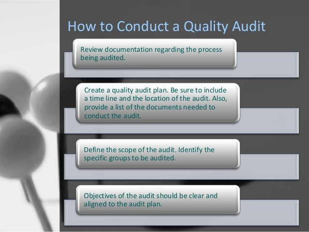 audit quality Read about pwc's commitment to quality and how we are sharing the results of our internal audit inspections to inform the dialogue about the role of the audit.