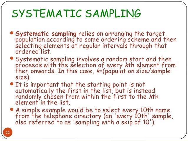 Tqm Sampling