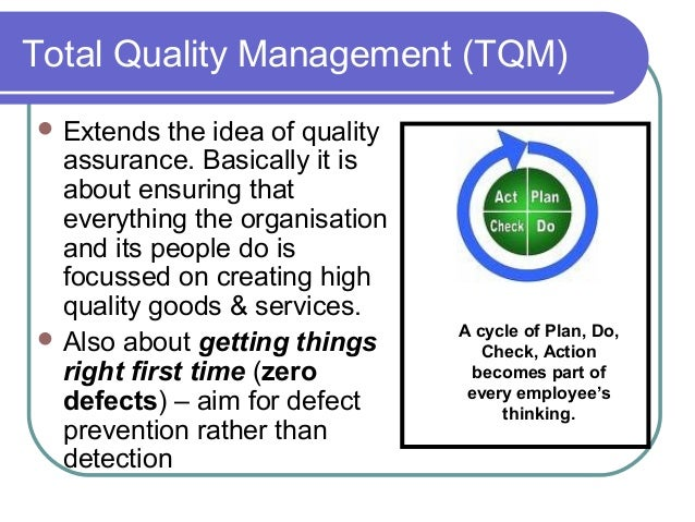 tqm getting things right the first Do the right things right the first time every time total quality management from mkt 1 at punjab engineering college.