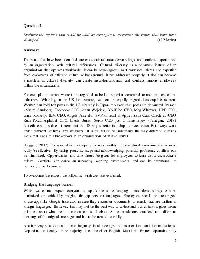 intercultural communication case study pdf