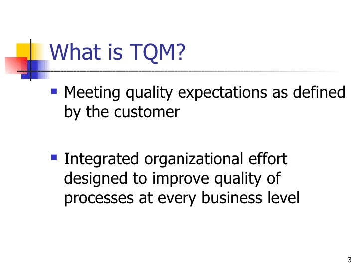 """defining quality and tqm Total quality management is a foundation for quality improvement methods like   the asq quality glossary defines quality management as """"the application of a."""