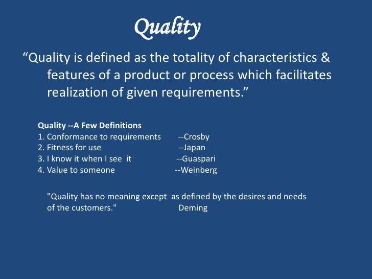 TQM (Total Quality Management) Slide 2