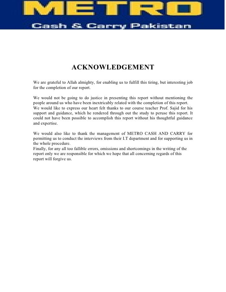 ACKNOWLEDGEMENT We are grateful to Allah almighty, for enabling us to fulfill this tiring, but interesting job for the com...