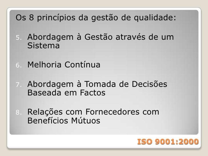 Modelo de melhoria contínua<br />ISO 9001:2000<br />