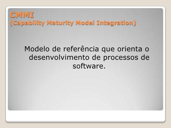 Os processos são divididos em 5 categorias<br />CUS:  Cliente-Fornecedor<br />ENG:  Engenharia de Software<br />SUP:  Apoi...