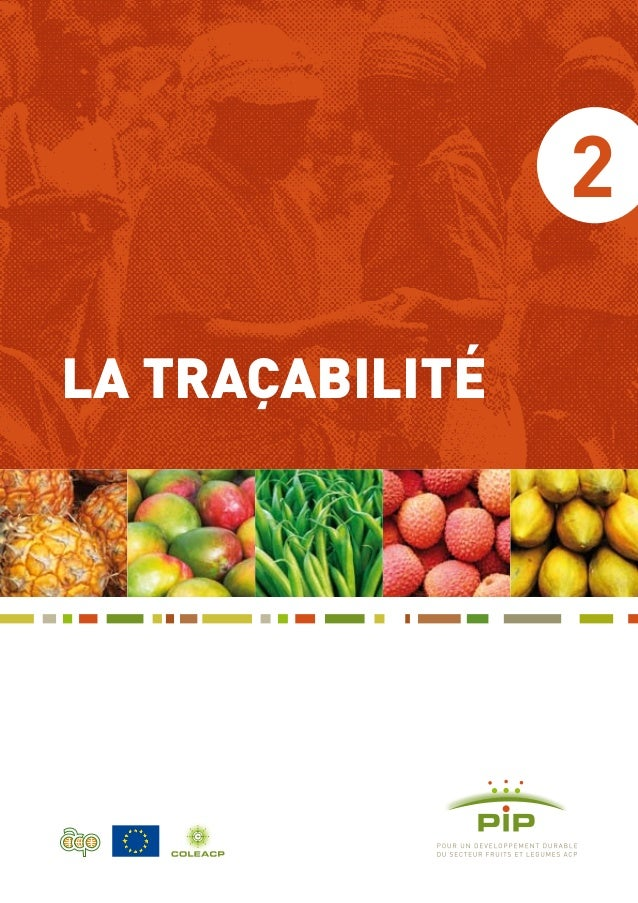 2 LA TRAÇABILITÉ