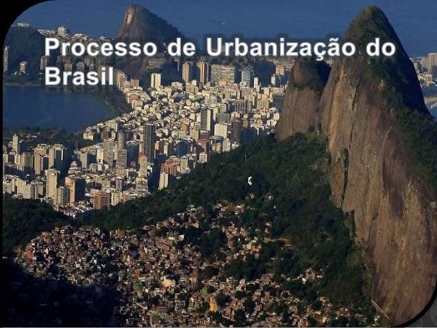 As Cidades no Brasil  Estatísticas da ONU  Estatísticas da Geografia