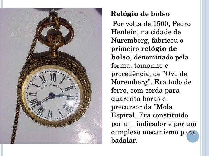 372453740db ... 5.  ul  li Relógio de bolso ...