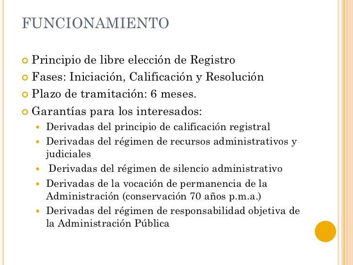 Alejandro puerto conceptos b sicos del registro de la for Oficinas del registro de la propiedad