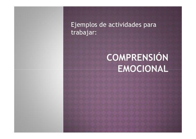 Trabajar emociones en tea Slide 3